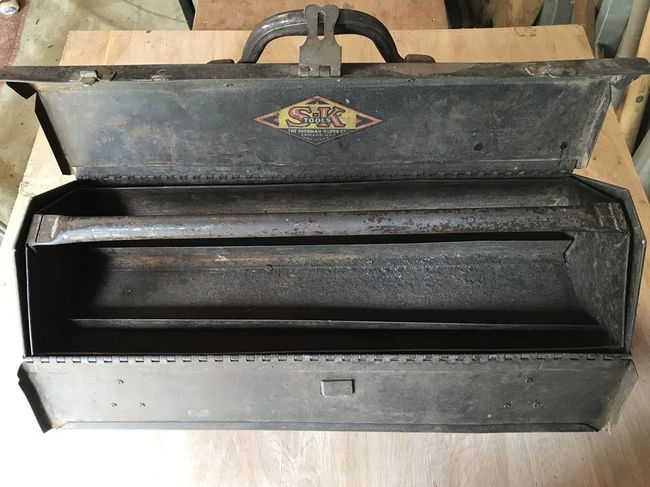 Wartime S-K carry box cleaned up