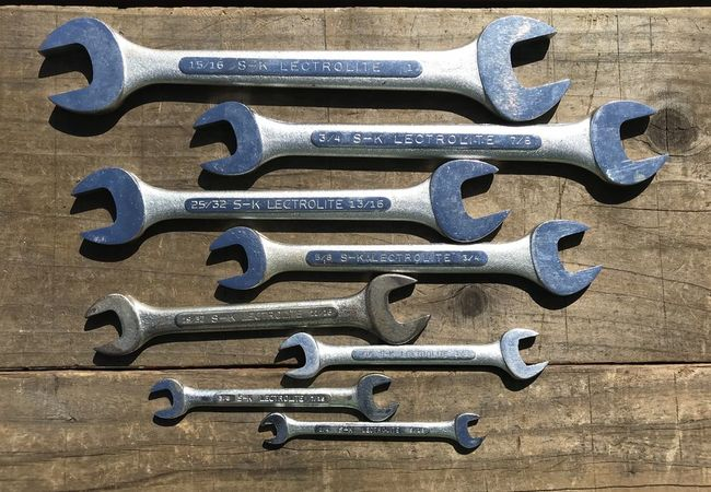 S-K Lectrolite DOE wrenches