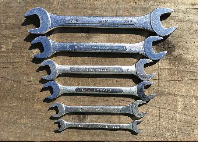 S-K DOE wrenches