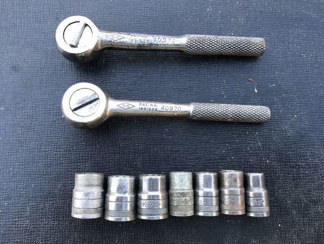 """S-K 1/4"""" drive tools"""
