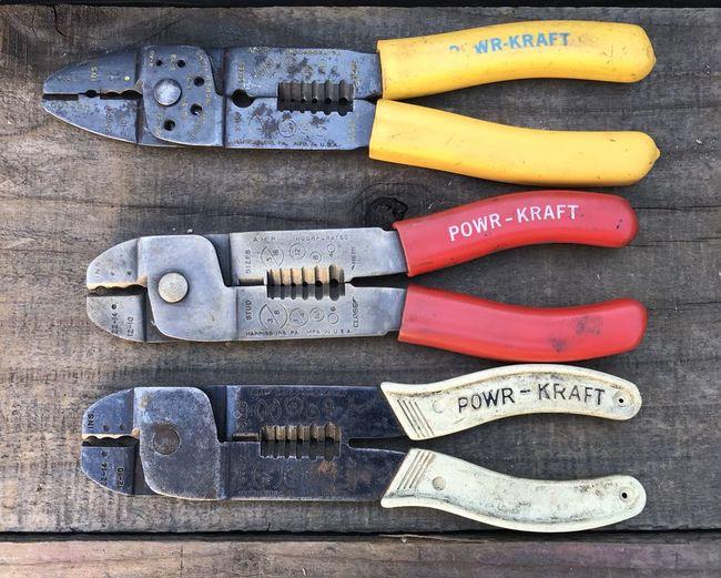 Powr-Kraft crimpers