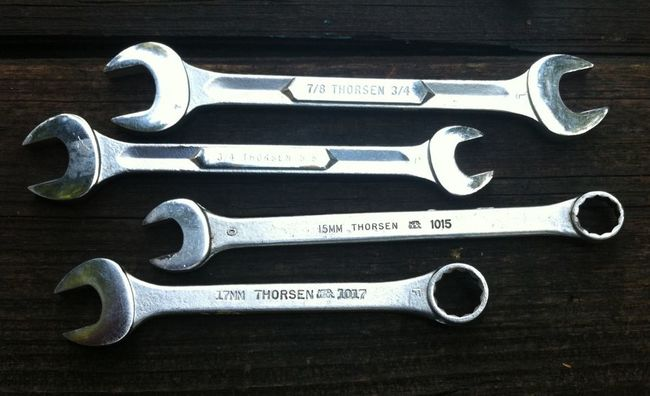 Tools from Jason 9/5/17 Thorsen wrenches