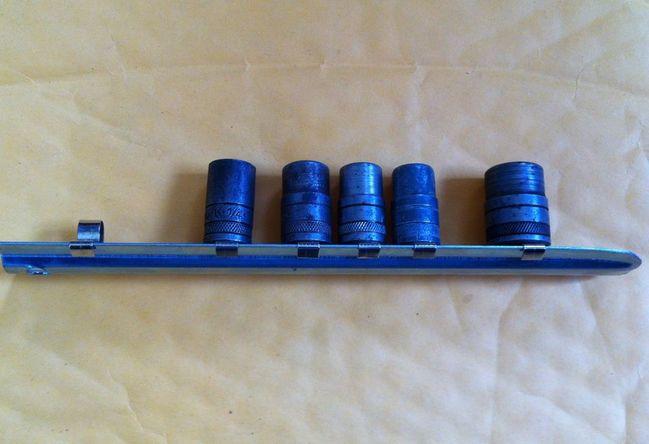 "S-K 1/4"" drive sockets from eBay"