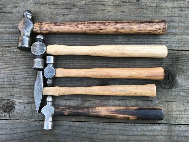 Rehandled hammers for Steve W