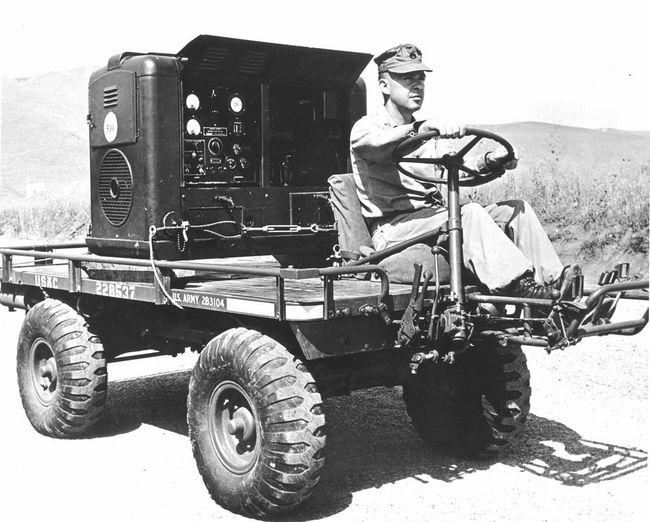 Mule with Generator Set