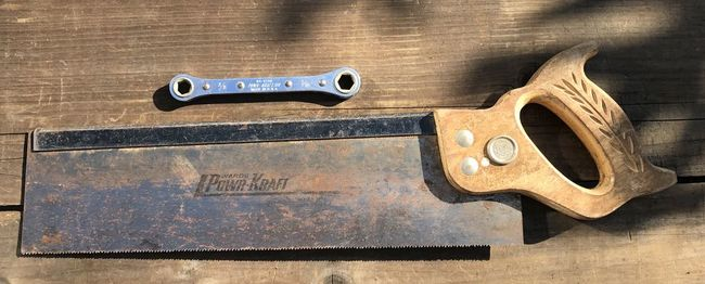 Powr-Kraft saw and ratchet wrench
