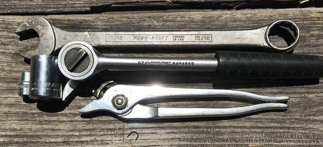 Tahoe flea PowrKraft tools