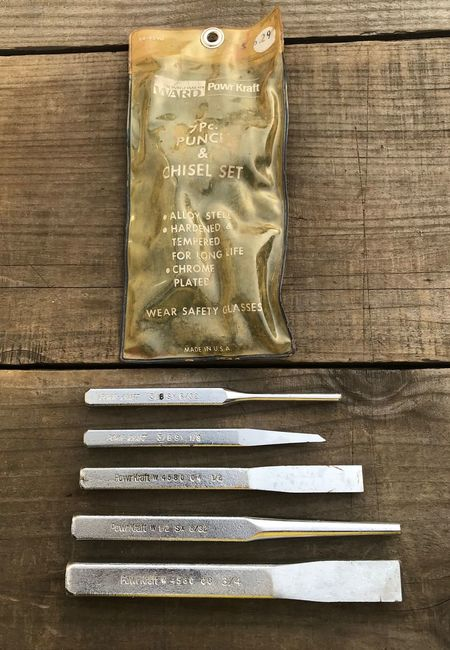 PowrKraft punches and chisels