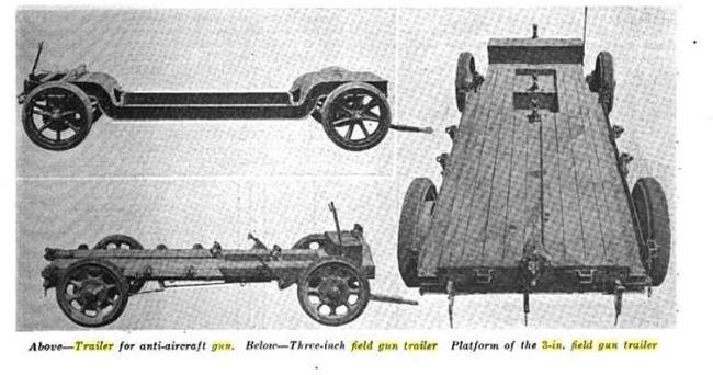 1918 3 Ton trailer