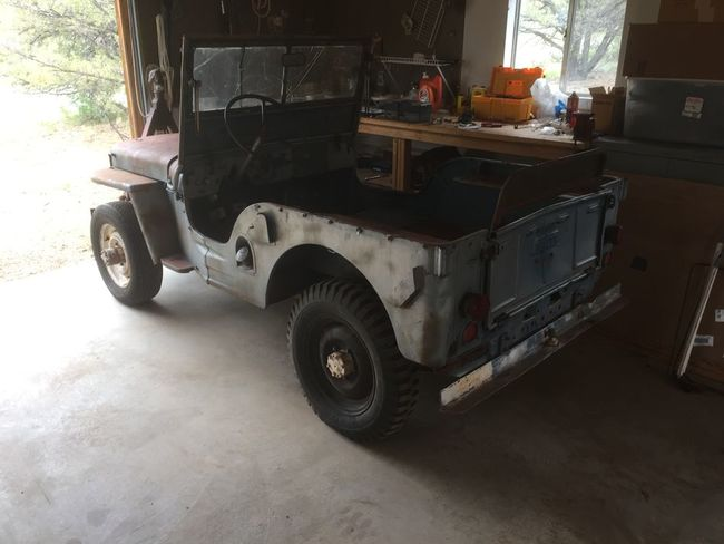 1945 CJ2A #11662