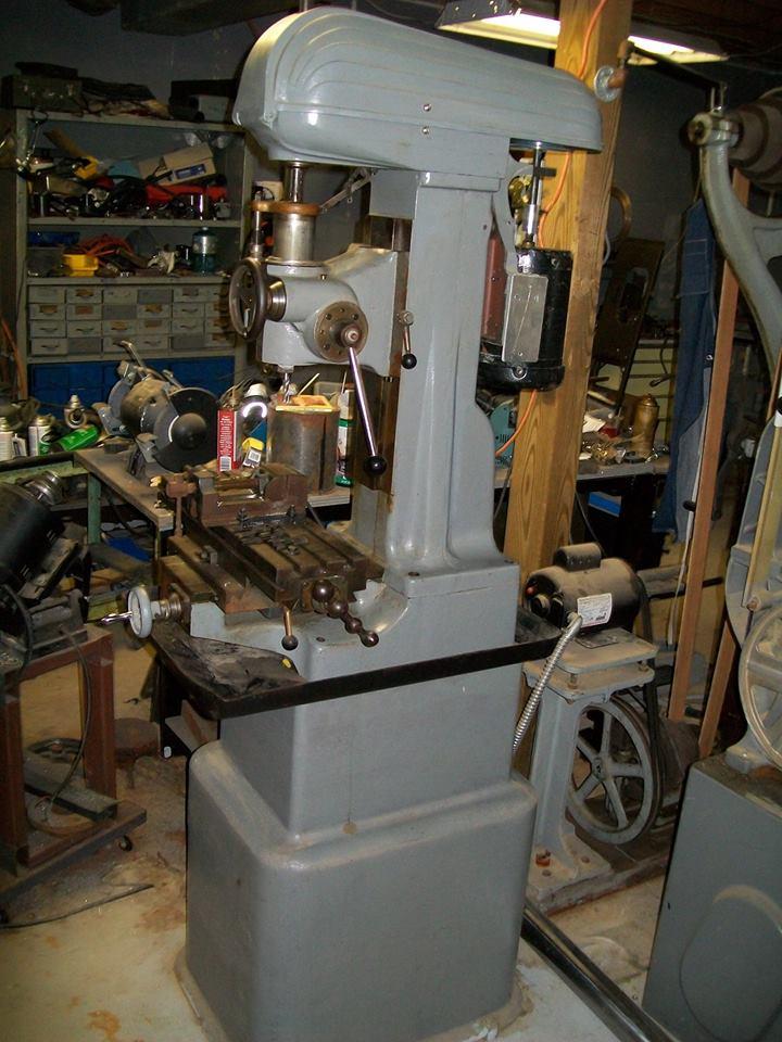 Help Identify Milling Machine