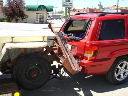 Tie Down A Jeep To A Car Hauler G503 Military Vehicle