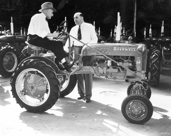 factory 1947 farmall cub photo
