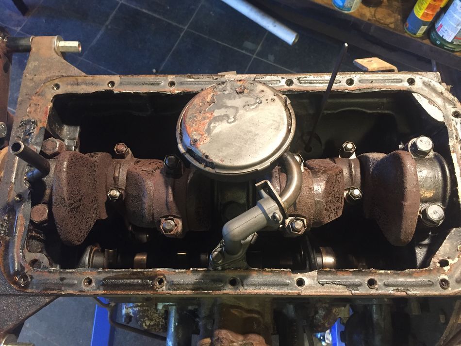 MB slat engine identification and tear down - G503 Military