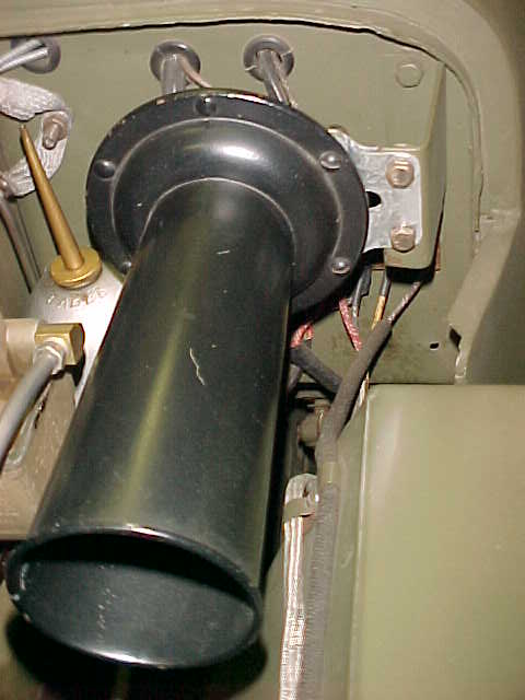 repro sparton horn fitting - g503 military vehicle message ... 2000 jeep horn wiring diagram willys jeep horn wiring #12