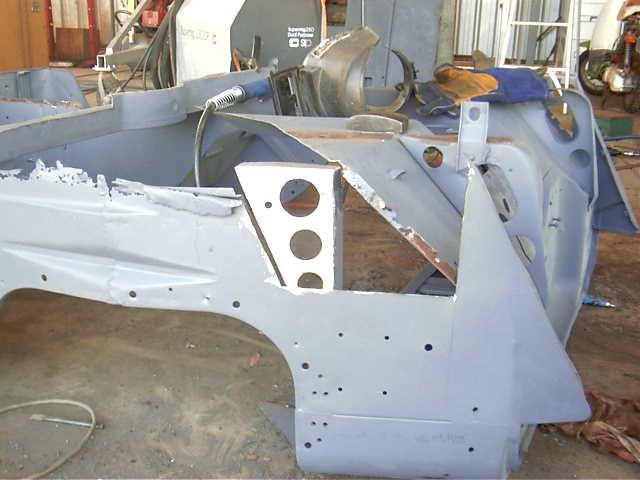 42 Ford GPW Body Repair