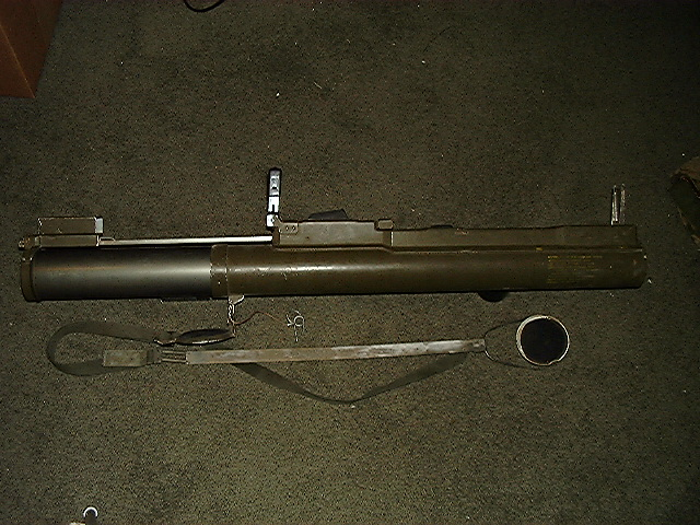 M72 LAW extended view