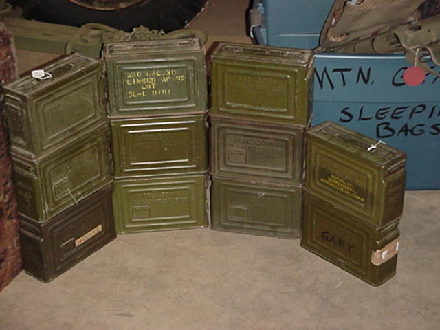 Types Of Jeeps >> FS: WW2 .30 cal BMG ammo cans - G503 Military Vehicle ...
