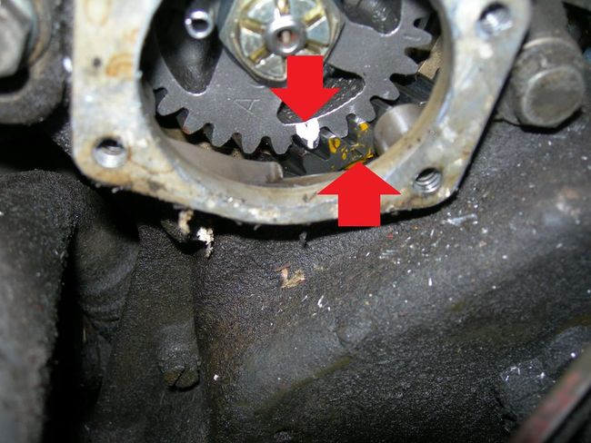 Magneto re install timing g503 military vehicle message forums also what is the ignition timing procedure once i get it installed sciox Choice Image
