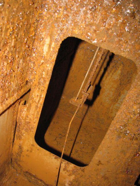 Inside of gas tank #1