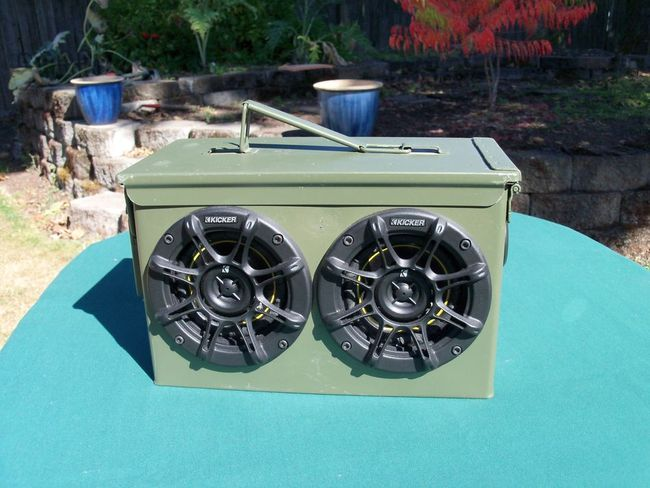For Sale Ammo Can Stereo G503 Military Vehicle Message