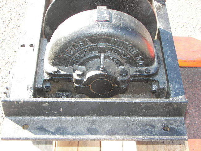 Tulsa winch identification