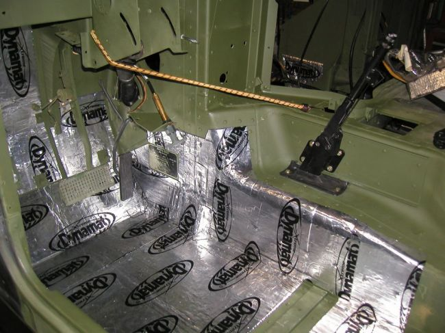 Under body insulation - G503 Military Vehicle Message Forums