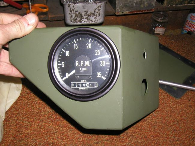 g503 military vehicle message forums • view topic a bit more as you can see only four wires are needed to operate the tach negative ground 24 volt positive and a positive and negative signal from the rpm sender