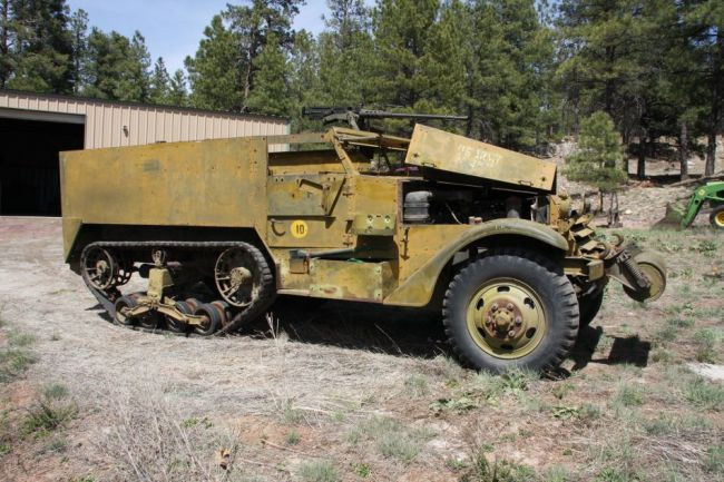 My first look at my new half track