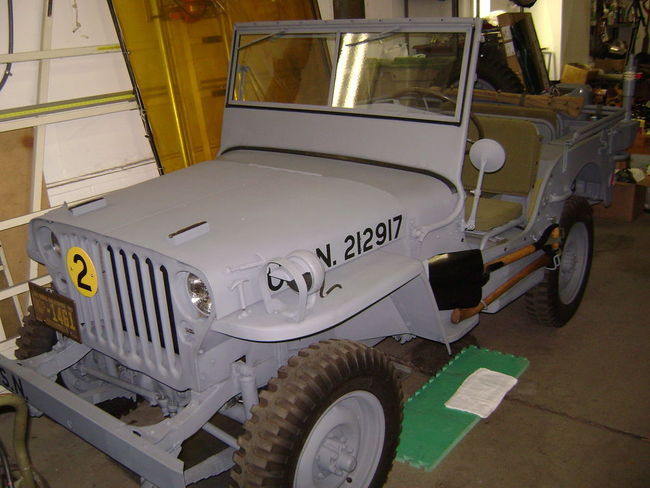USN 1944 WILLYS MB
