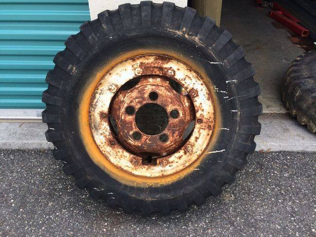 National Tire And Wheel >> For Sale: Dodge ¾ ton combat wheels / M37 wheels / tires ...