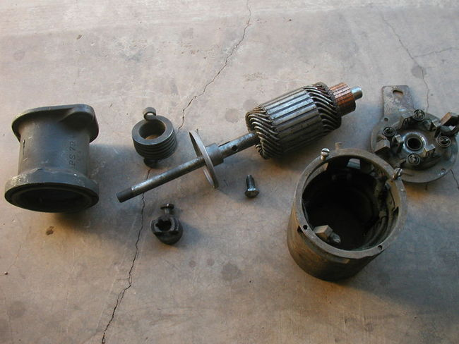 Fs Ww2 6v Starter Parts Lot 25 Sold G503 Military