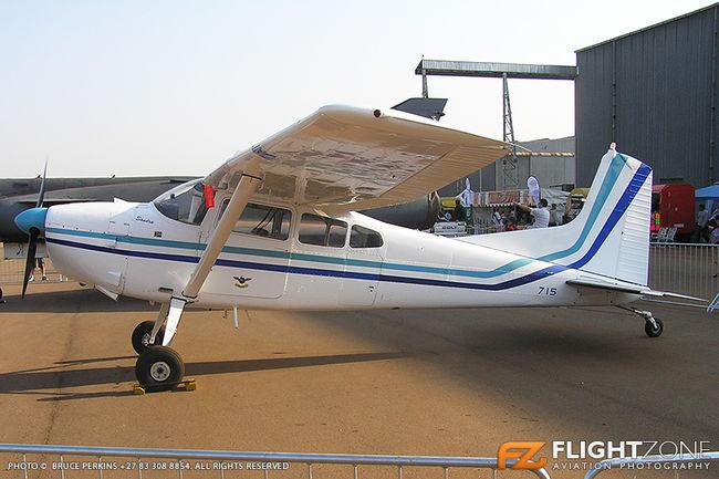 Cessna 185 Skywagon SAAF 715 Waterkloof Air Force Base FAWK