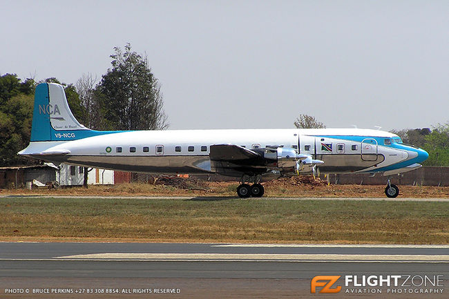 Douglas DC-6 Super Skymaster V5-NCG Waterkloof Air Force Base FAWK