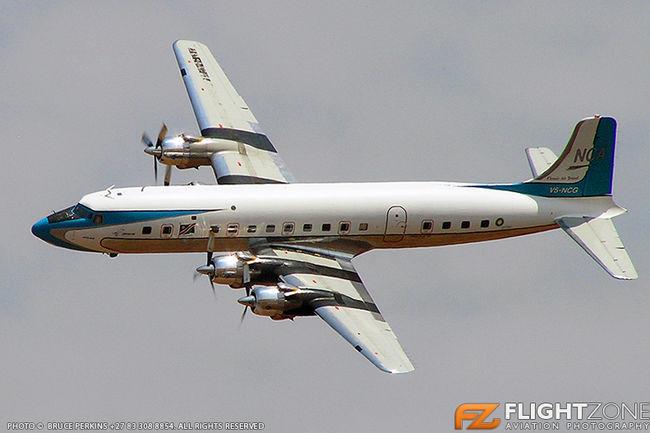 Douglas DC-6 Super Skymaster V5-NCG Waterkloof Air Force Base FAWK