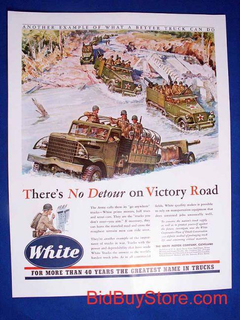 White Advert