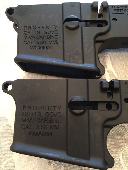 M4a1 lower