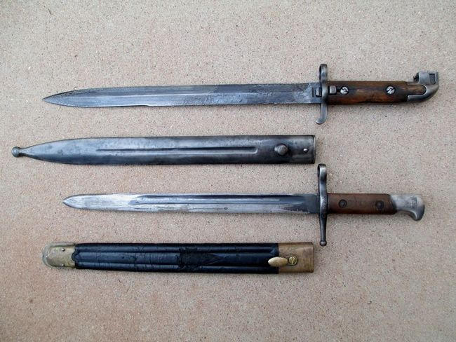 Bayonets_Swedish_and_Italian