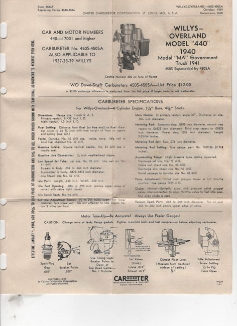 CARbureTER_No_1087_1940_WO0450S_instructions_pg1