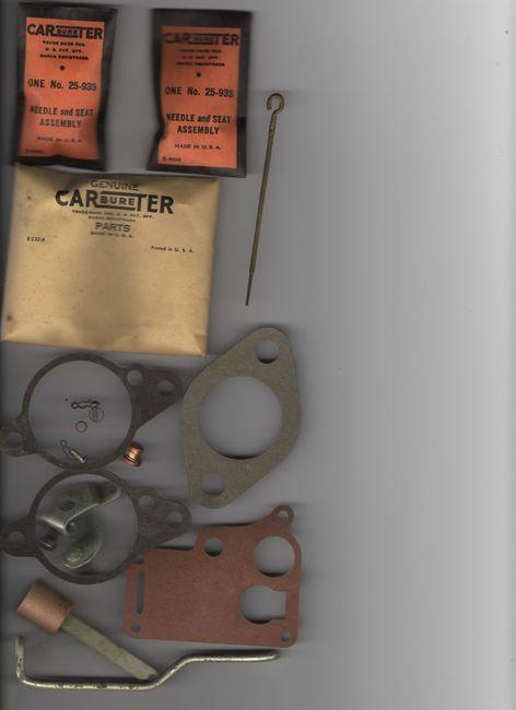 CARbureTER_No_1355C_1945-49_596S_636S_636SA_W-O_No_647745_kit_contents_4667
