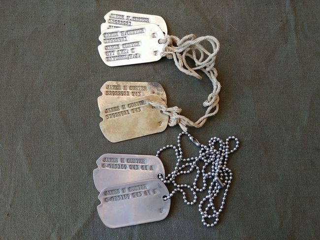 Custer_Dog_Tag_Set