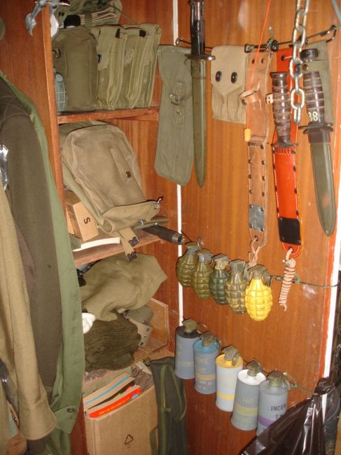 WWII Gear collection