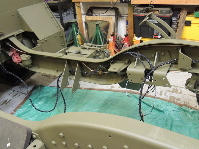M2A1 Front End and Engine Rebuild on