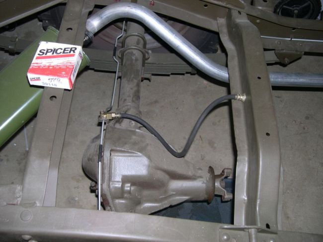 m38 rear brake hose question - G503 Military Vehicle Message