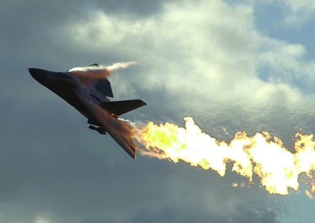 F-11_Aardvark_on_fire