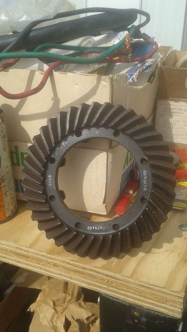Ford Ring gear for GPW script in cosmoline