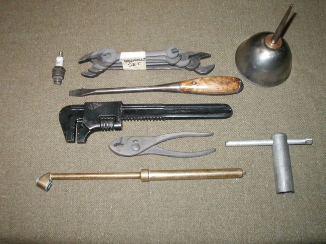Fs Correct Ww2 Tools Sold G503 Military Vehicle Message