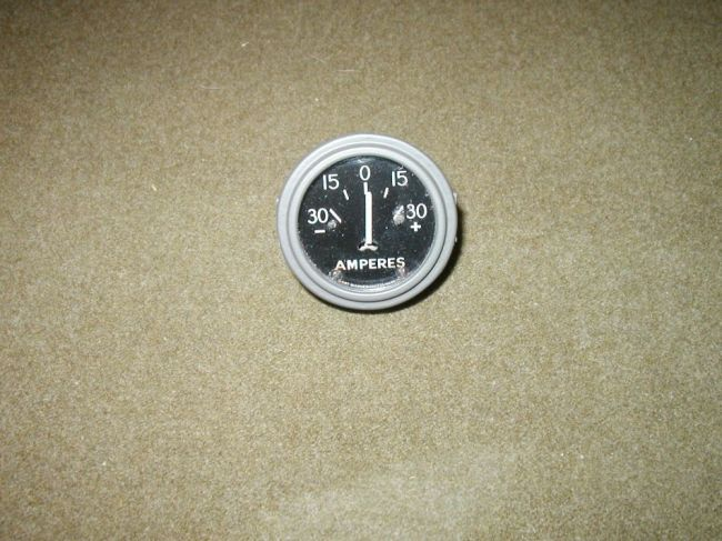 Stewart-Warner 0-30 Amperes Gauge