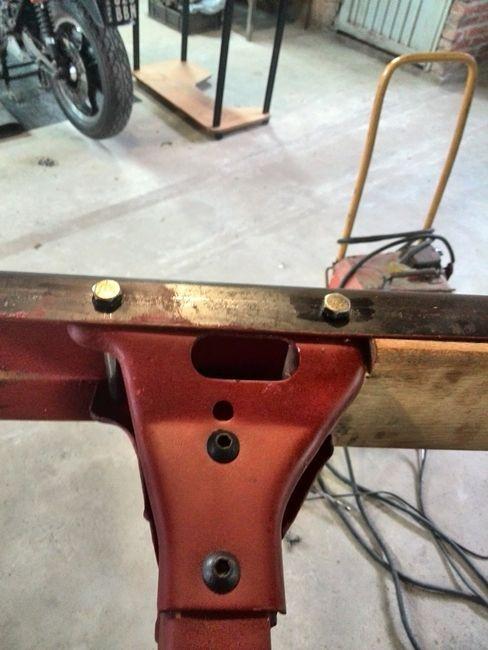 Bumper gusset install