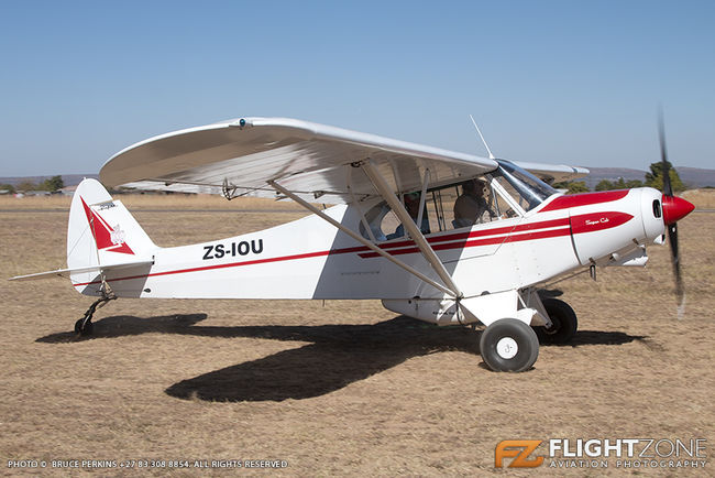 Piper PA-18 Super Cub ZS-IOU Nylstroom Airfield FANY